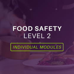 Food Safety Level 2 Modules